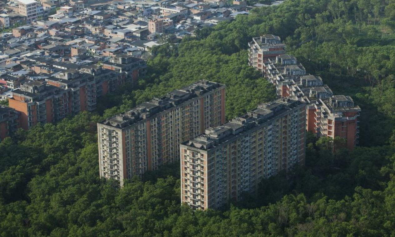 Rio das Pedras é a segunda maior favela do estado, com cerca de 80 mil habitantes Foto: Gabriel Monteiro / Agência O Globo