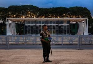 Fachada do Supremo Tribunal Federal, em Brasília Foto: Daniel Marenco/Agência O Globo/22-10-2018