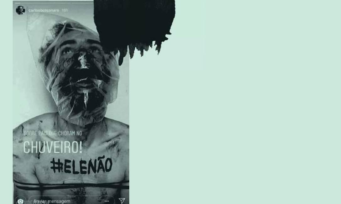 A estratégia de Bolsonaro, de privilegiar a polêmica em lugar da argumentação Foto: Reprodução
