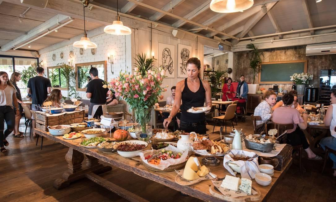 O restaurante Gouje and Danielle Foto: Tzachi Ostrovsky / NYT