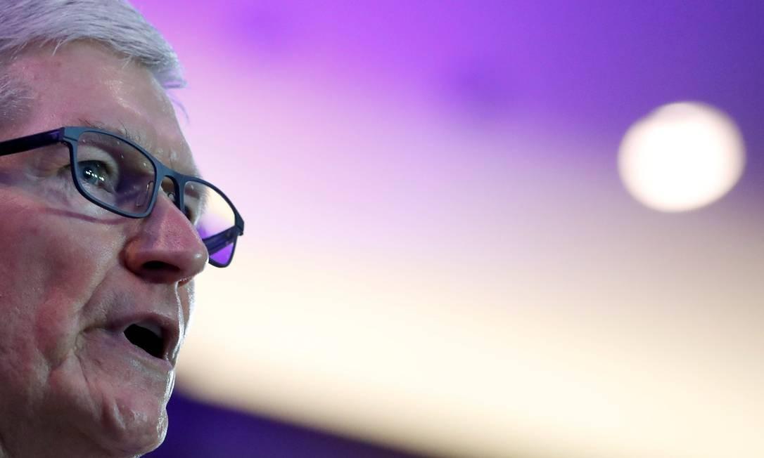 Cook disse na entrevista que se sentia 'egoísta' ao não seassumir gay Foto: YVES HERMAN / REUTERS