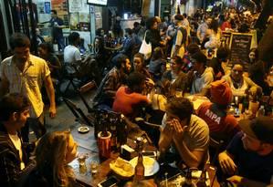 Bar em Botafogo Foto: Fabio Gonçalves / Agência O Globo