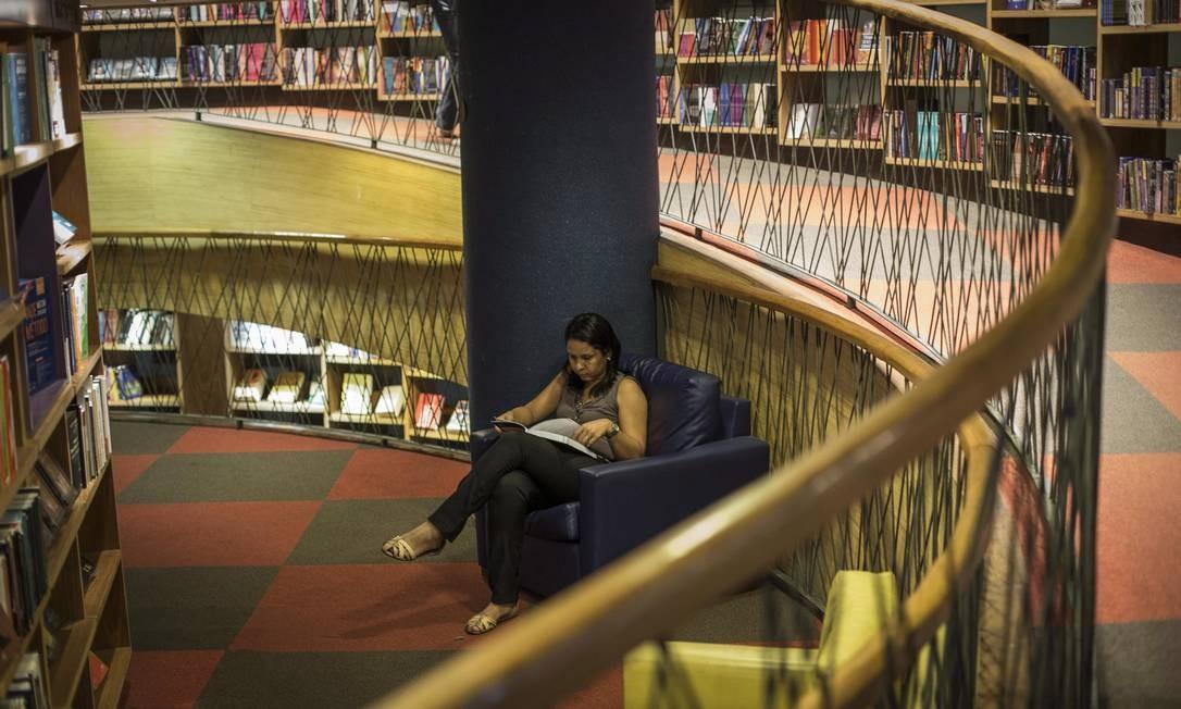 Livraria Cultura fechada no Rio de Janeiro Foto: Guito Moreto / Agência O Globo