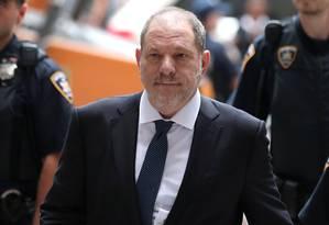 Denúncias contra o produtor Harvey Weinstein deu início a série de relatos de assédio Foto: MIKE SEGAR / REUTERS