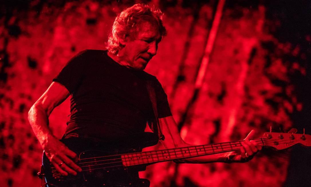 Roger Waters em show no Maracanã Foto: Bárbara Lopes