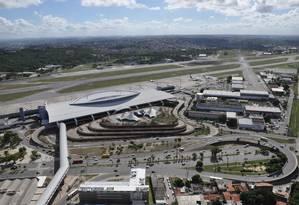 Aeroporto de Recife está incluído no Bloco Nordeste Foto: Arquivo
