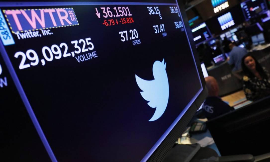 Twitter perdeu mais usuários que o esperado no terceiro trimestre de 2018 Foto: Lucas Jackson / Reuters