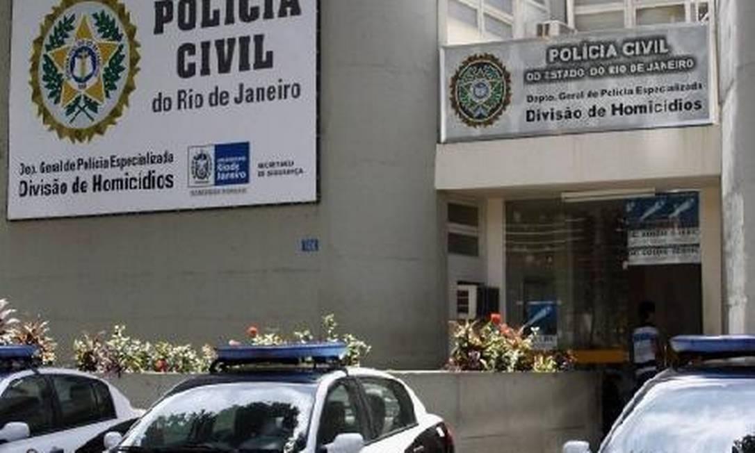 Delegacia de Homicídios do Rio de Janeiro Foto: Divulgação