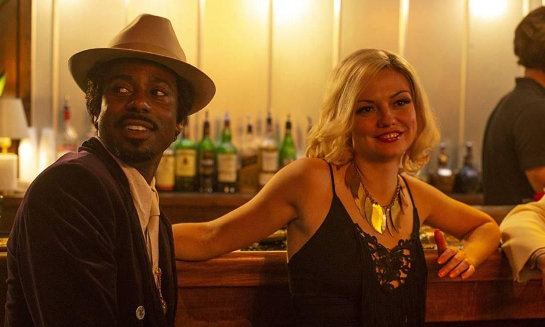 Emily Meade em cena da série 'The deuce' Foto: Divulgação