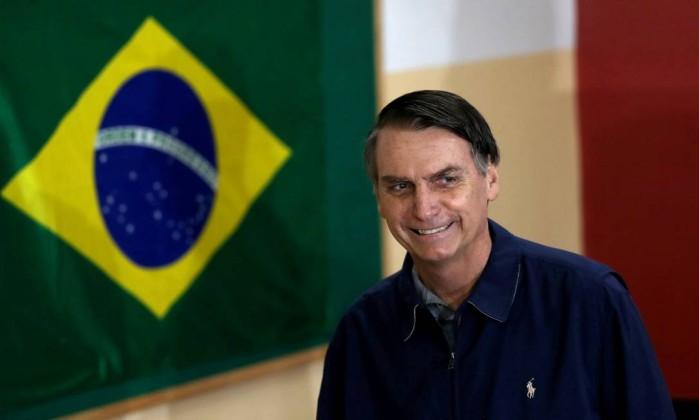 Jair Bolsonaro (PSL) é líder das pesquisas de intenção de voto à Presidência Foto: Ricardo Moraes / REUTERS