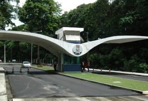 Entrada da Universidade Federal da Paraíba, em João Pessoa Foto: Divulgação