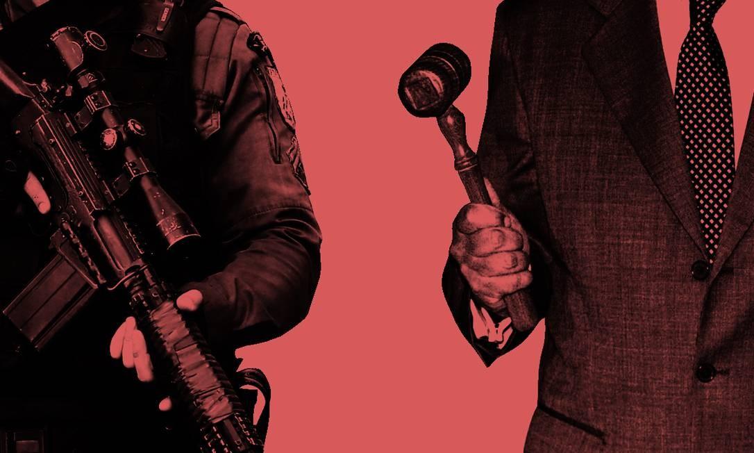 Procurador bolsonarista contribuiu para a absolvição de PMs acusados de tortura Foto: Agência O Globo