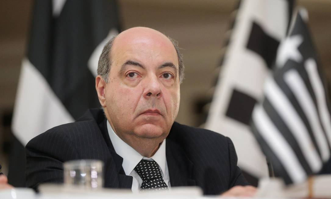 Nelson Mufarrej é o presidente do Botafogo Foto: Márcio Alves / Agência O Globo