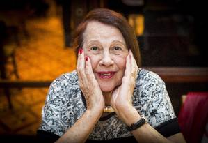Nita Freire é a guardiã das obras de Paulo Freire Foto: Bárbara Lopes / Agência O Globo