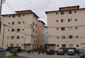 Conjunto de casas do Minha Casa, Minha Vida em Belford Roxo Foto: Agência O Globo