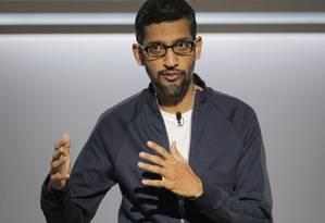 O diretor executivo da Google, Sundar Pichai, afirmou que empresa adotou