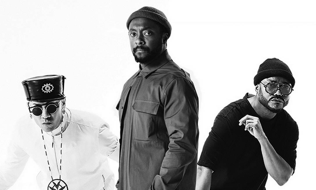 O grupo americano Black Eyed Peas Foto: Divulgação