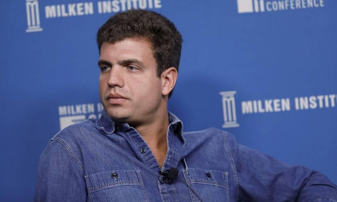André Street, cofundador da Stone, empresa brasileira de maquininhas de pagamento via cartão Foto: / Bloomberg