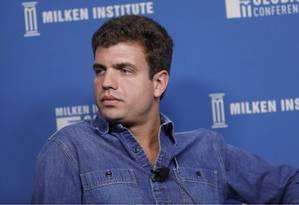 André Street, cofundador da Stone, empresa brasileira de maquininhas de pagamento via cartão Foto: Bloomberg