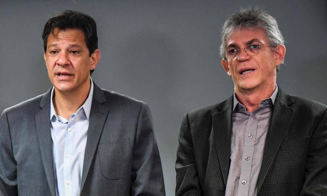 Resultado de imagem para Ricardo Coutinho e Haddad
