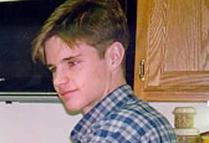Imagem de arquivo de Matthew Shepard, aos 22, no ano em que seria assassinado Foto: Arquivo pessoal