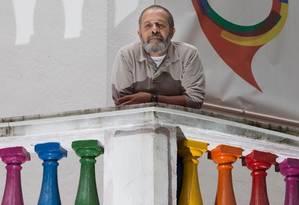José Marcos Dupim diz não ter medo da solidão Foto: Edilson Dantas / Agencia O Globo
