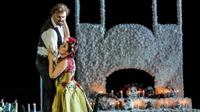 'Carmen', de bizet, em montagem de Valentina Carrasco, atração do Festival Ópera na Tela Foto: Divulgação