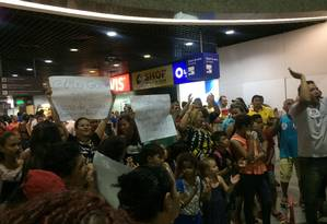 Recepção a Ciro Gomes em Fortaleza Foto: Thays Lavor / Agência O Globo