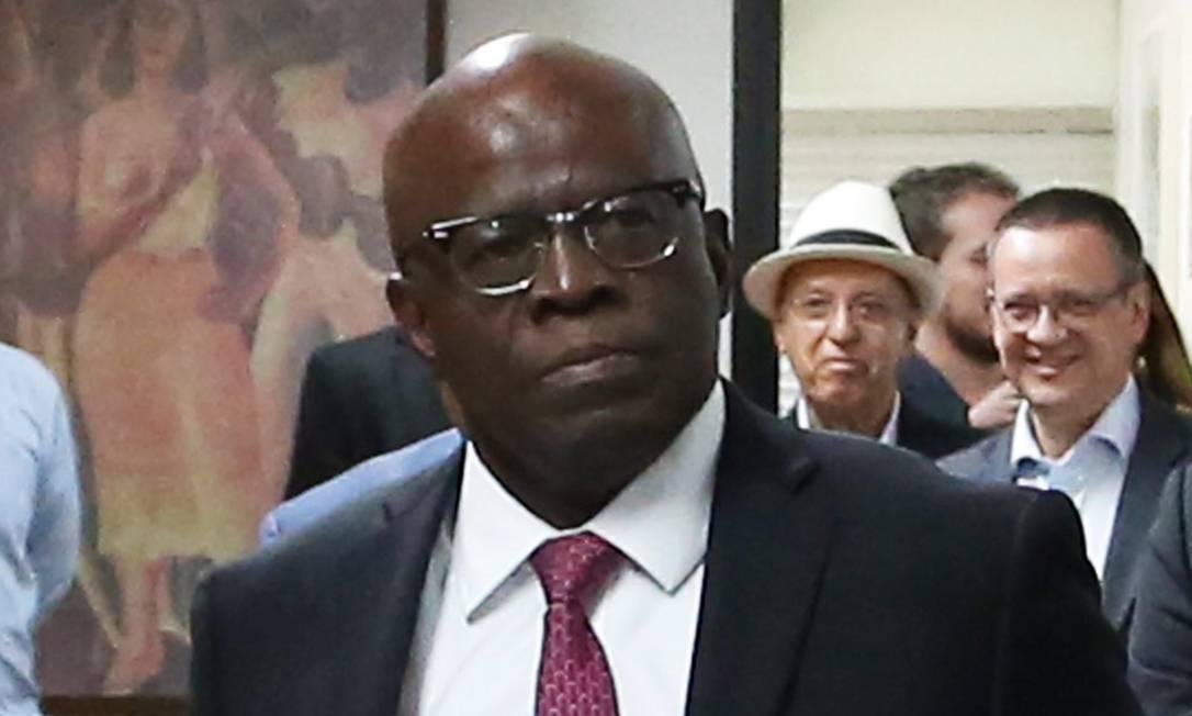 O ex-ministro do STF Joaquim Barbosa Foto: Aílton de Freitas / Agência O Globo