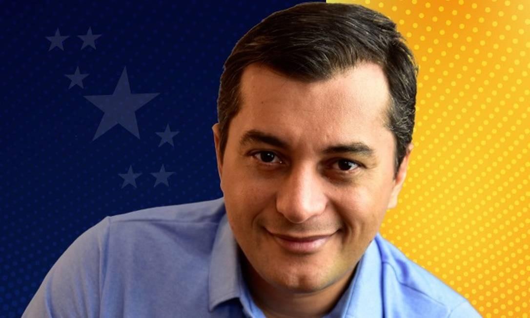 Candidato ao governo do Amazonas, Wilson Lima (PSC) Foto: Reprodução/Facebook