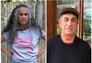 Maria Bethânia e Raimundo Fagner Foto: Reproduções