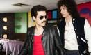 Rami Malek na pele de Freddie Mercury, líde do Queen Foto: Divulgação / Divulgação