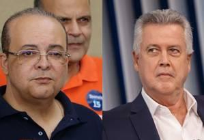 Ibaneis Rocha (MDB) e Rodrigo Rollemberg (PSB), candidatos ao governo do Distrito Federal Foto: Agência O Globo