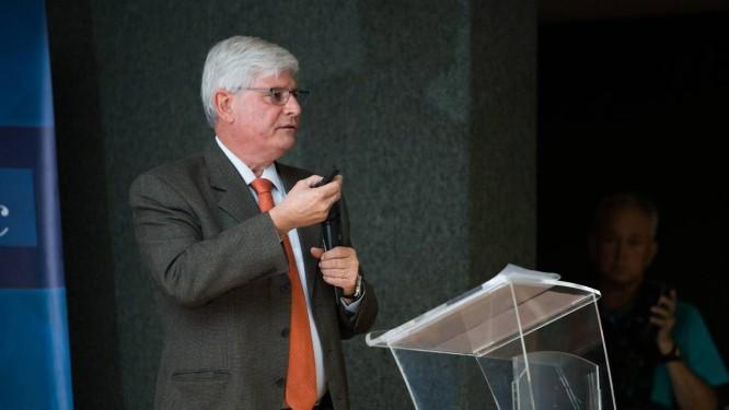 Rodrigo Janot dá palestra em Minas Gerais Foto: MOISES SILVA / O TEMPO 23-10-2017 / Agência O Globo