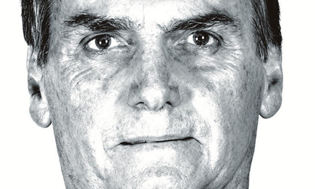 Jair Bolsonaro, candidato do PSL à Presidência Foto: Márcia Foletto / Agência O Globo
