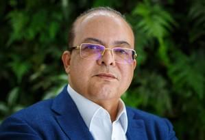 O candidato do MDB ao governo de Distrito Federal, Ibaneis Foto: Daniel Marenco/Agência O Globo