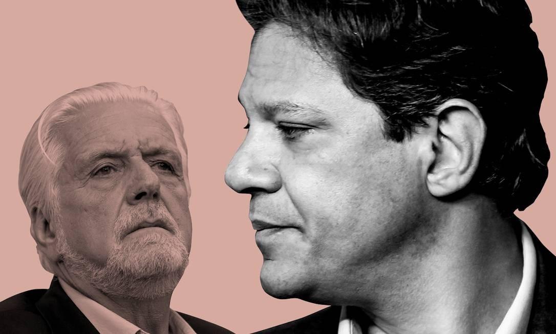 Partido avalia que deveria ter ampliado ataques a Bolsonaro ainda no primeiro turno Foto: Agência O GLOBO