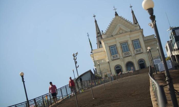 Igreja da Penha Foto: Gabriel Monteiro / Agência O Globo