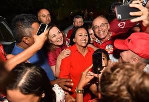 A senadora Fátima Bezerra, eleita governadora do Rio Grande do Norte Foto: Reprodução/Facebook