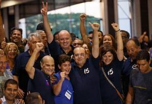 Ibaneis Rocha (MDB) comemora eleição ao governo do Distrito Federal Foto: Daniel Marenco / Agência O Globo