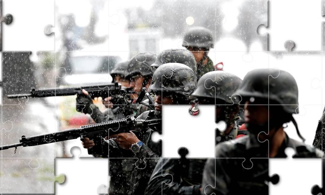 Com Bolsonaro e Mourão, militares devem ganhar protagonismo Foto: Editoria de Arte