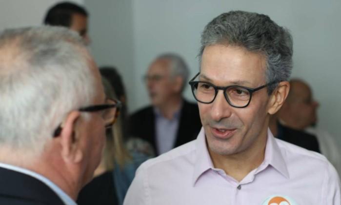 Romeu Zema, governador eleito de Minas Gerais pelo Novo Foto: Reprodução/Facebook