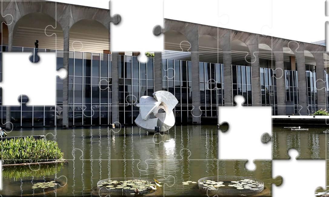 """O general Augusto Heleno Pereira, possível ministro da Defesa, já declarou ao GLOBO que as relações com os EUA """"podem melhorar"""", e criticou a """"prevenção enorme"""" da esquerda com a superpotência Foto: Agência O Globo"""