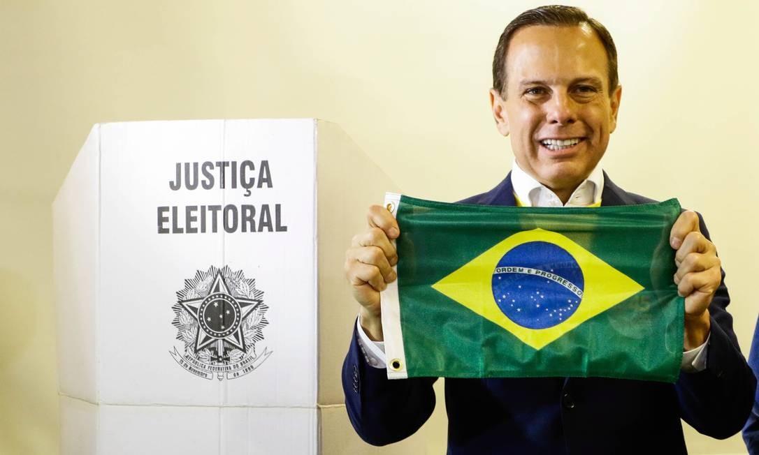João Doria (PSDB) foi eleito governador de São Paulo Foto: Parceiro / Aloisio Mauricio/Fotoarena