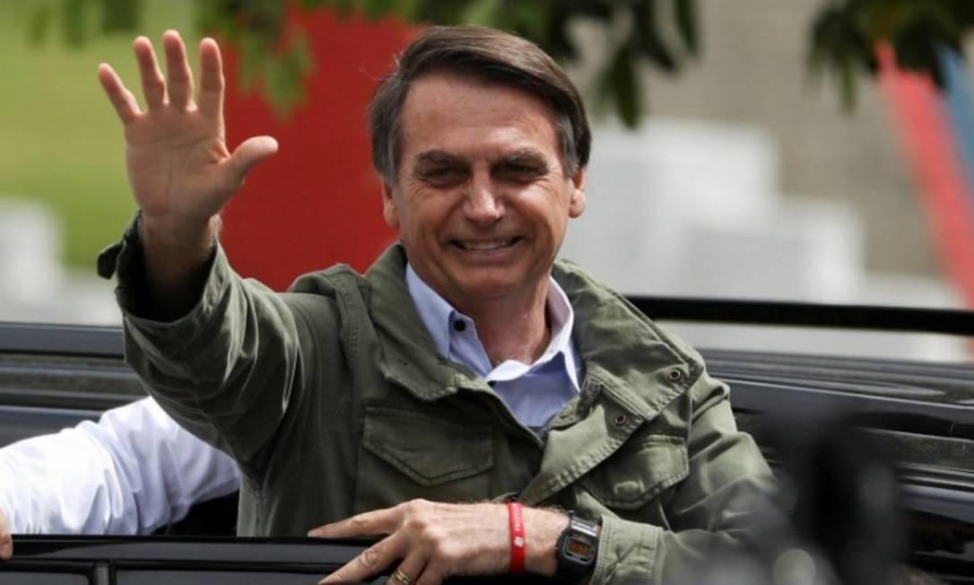 O presidente eleito Jair Bolsonaro Foto: Reuters
