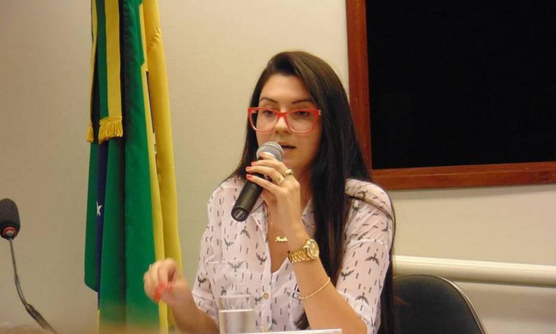 Ana Caroline Campagnolo, eleita deputada estadual pelo PSL Foto: Divulgação/Congresso Nacional