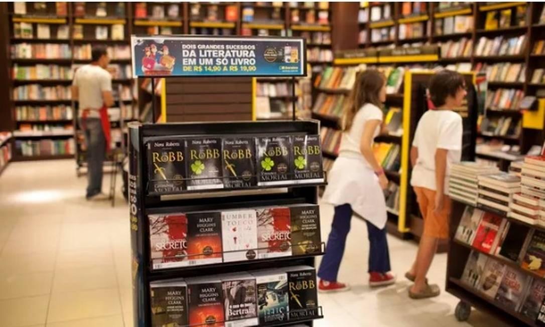 Filial da Livraria Saraiva Foto: Agência O Globo