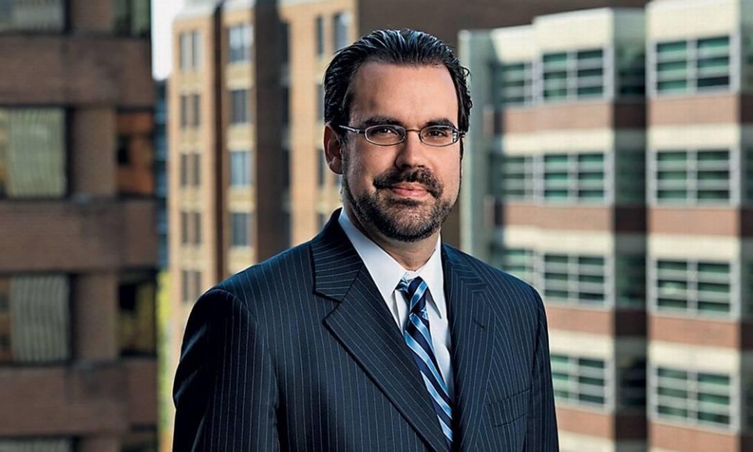 O cientista político Christopher Garman, diretor da consultoria política internacional Eurasia Foto: John Burwel / Divulgação