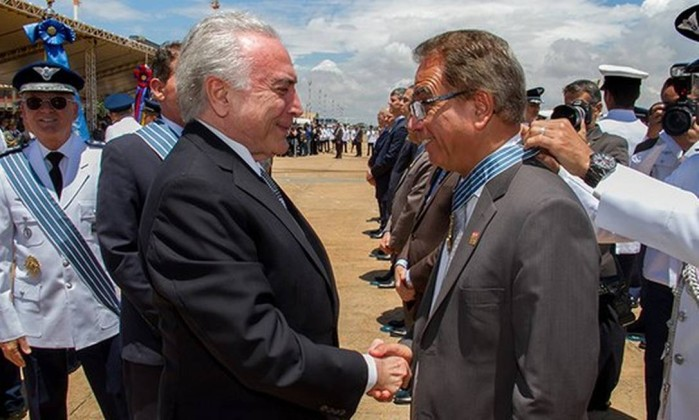 O ministro da Secretaria Geral da Presidência, Ronaldo Fonseca (Podemos) Foto: Cleverson Oliveira / Divulgação