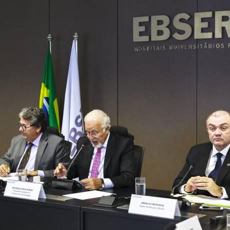 Empresa Brasileira de Serviços Hospitalares recebeu R$ 3,6 bilhões em 2017 Foto: Francisco Willian / Divulgação/EBSERH
